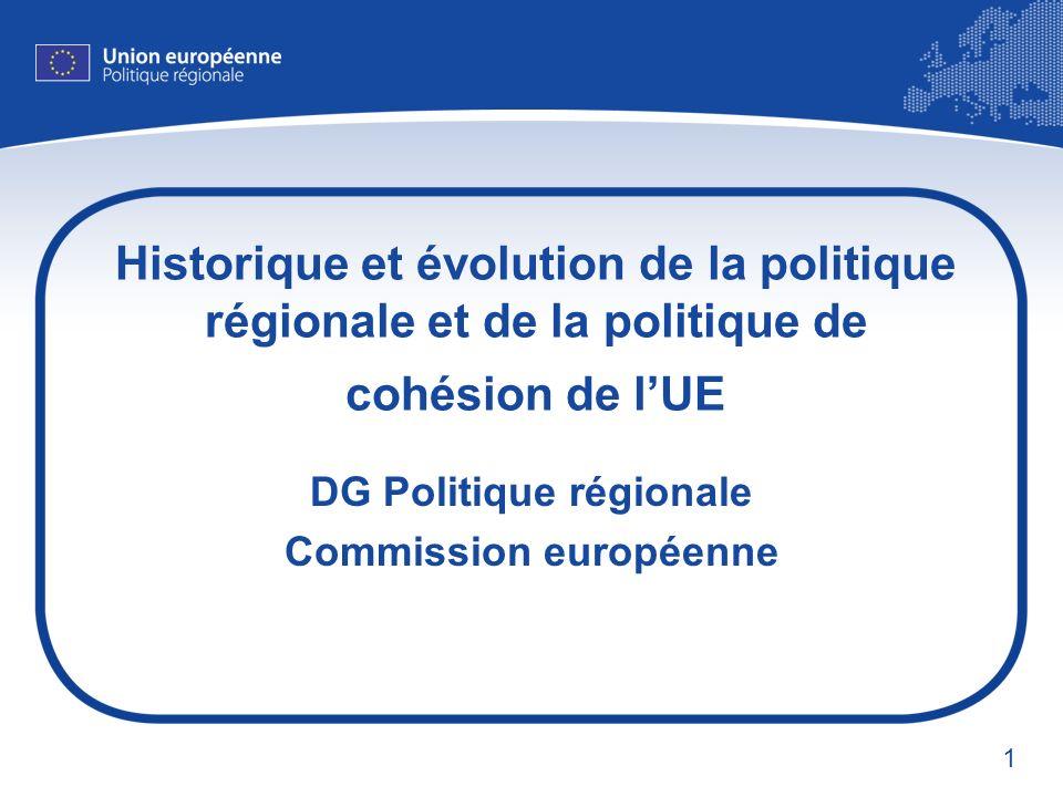 DG Politique régionale Commission européenne