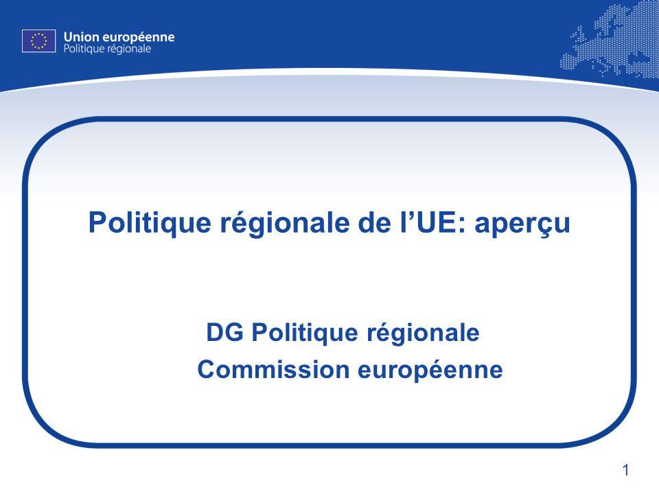 Politique régionale de l'UE: aperçu