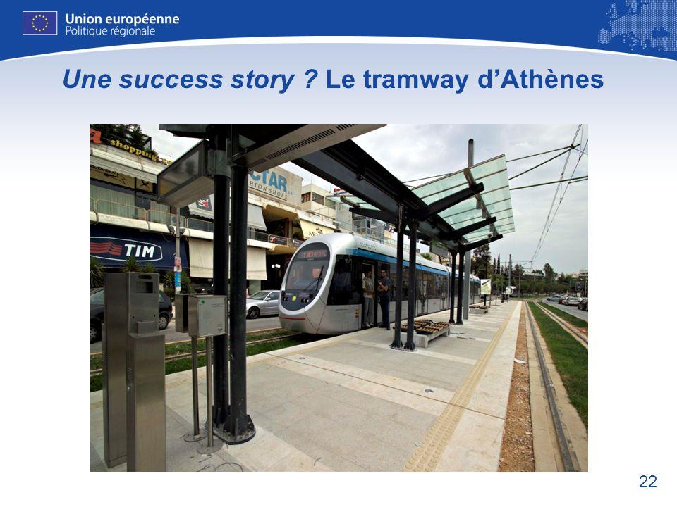 Une success story Le tramway d'Athènes