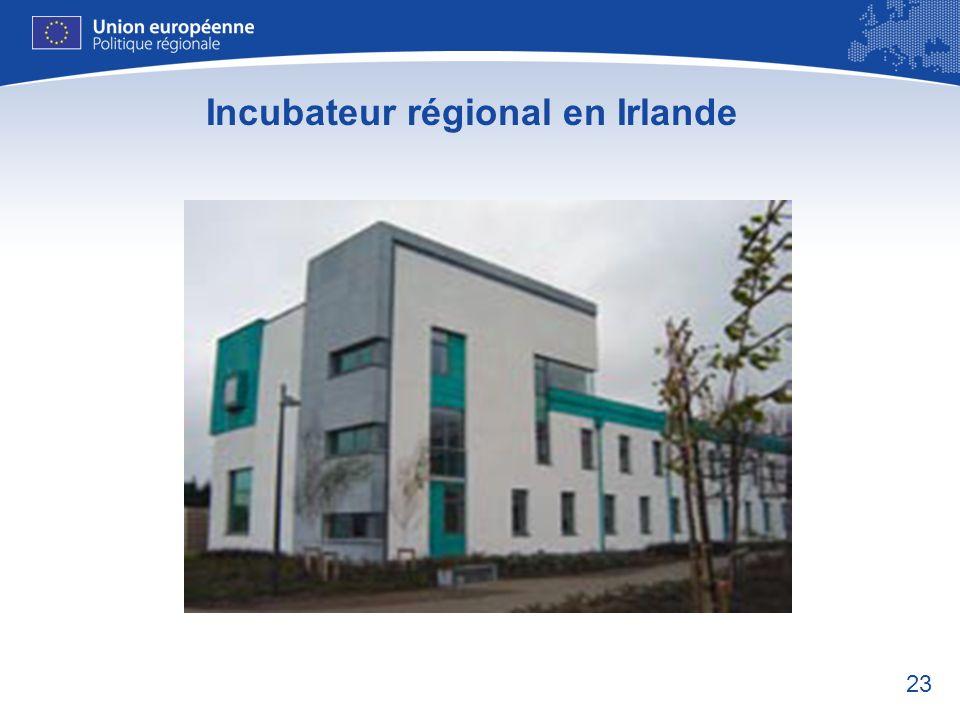 Incubateur régional en Irlande