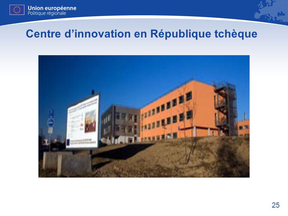 Centre d'innovation en République tchèque