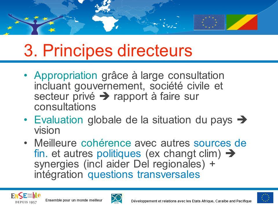 3. Principes directeurs
