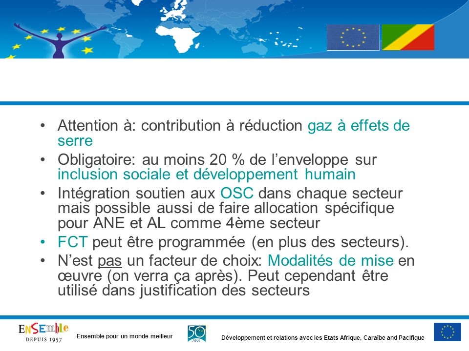 Attention à: contribution à réduction gaz à effets de serre