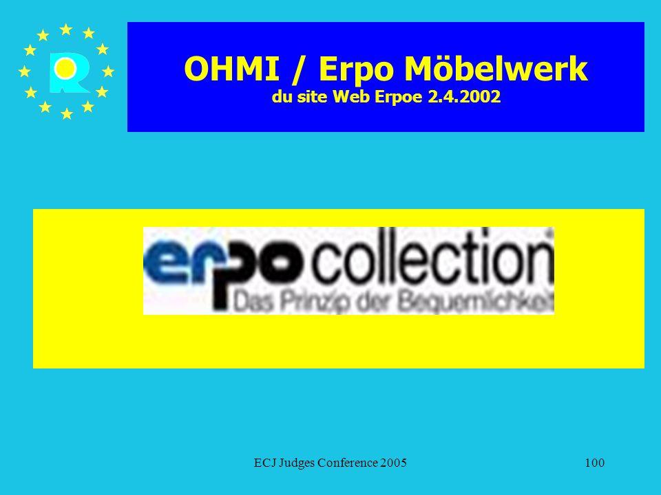 OHMI / Erpo Möbelwerk du site Web Erpoe 2.4.2002