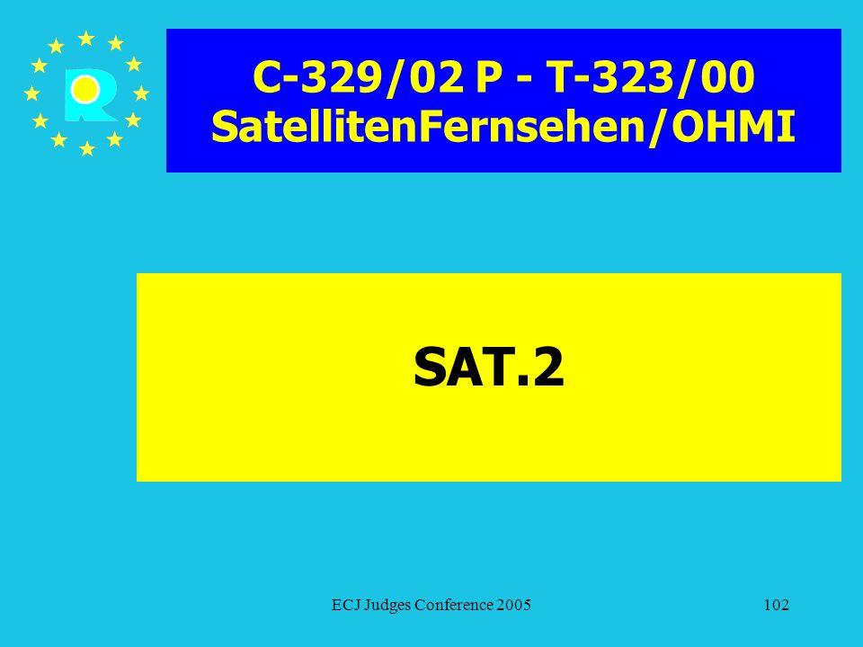 C-329/02 P - T-323/00 SatellitenFernsehen/OHMI