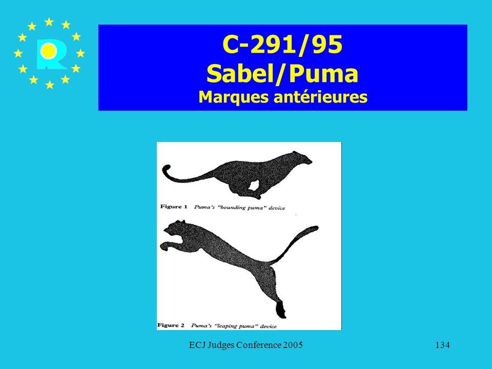 C-291/95 Sabel/Puma Marques antérieures