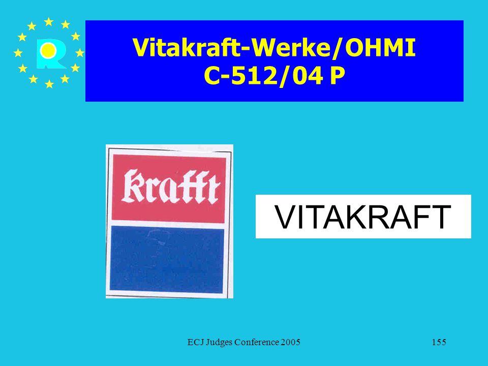 Vitakraft-Werke/OHMI C-512/04 P