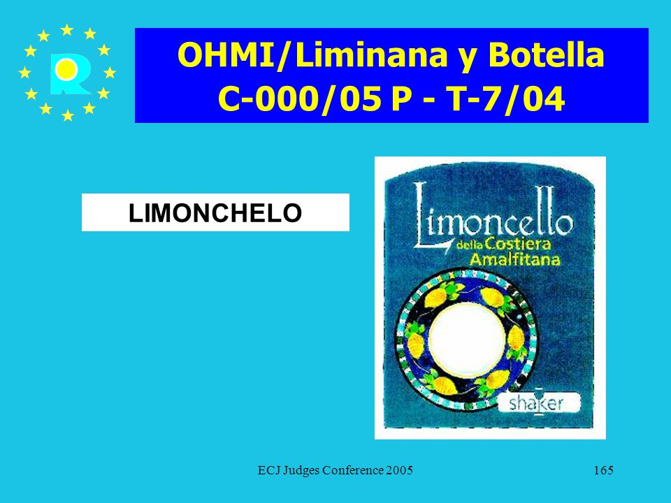 OHMI/Liminana y Botella C-000/05 P - T-7/04