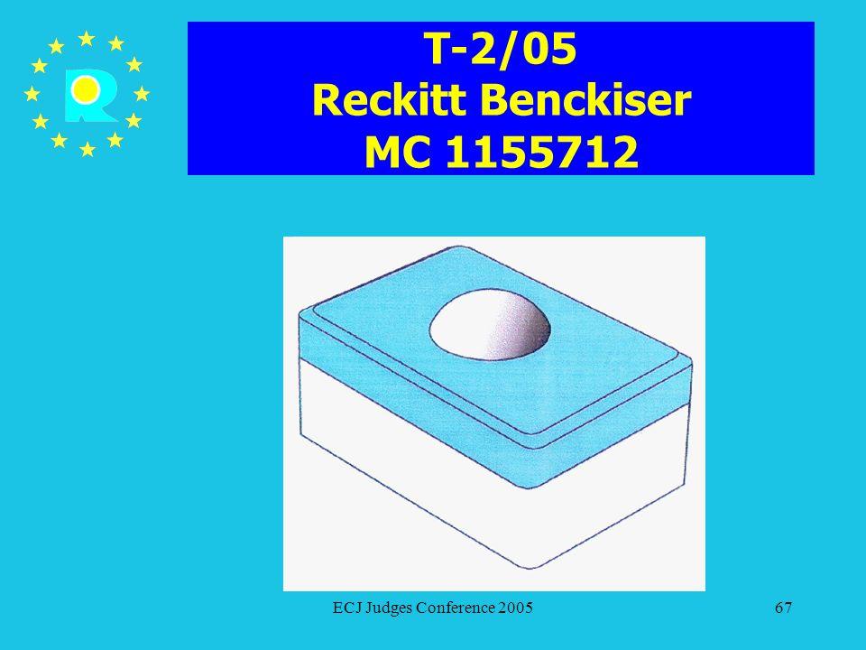 T-2/05 Reckitt Benckiser MC 1155712