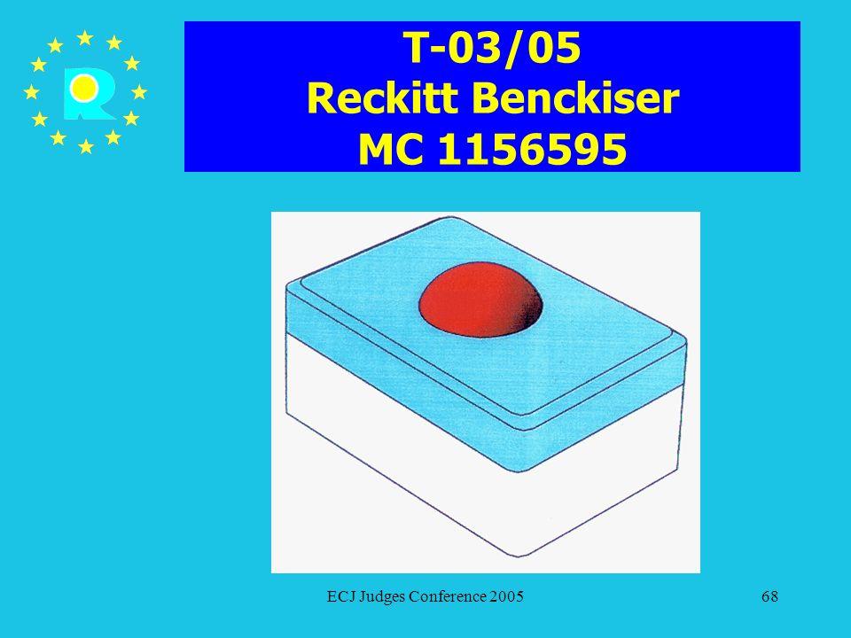 T-03/05 Reckitt Benckiser MC 1156595