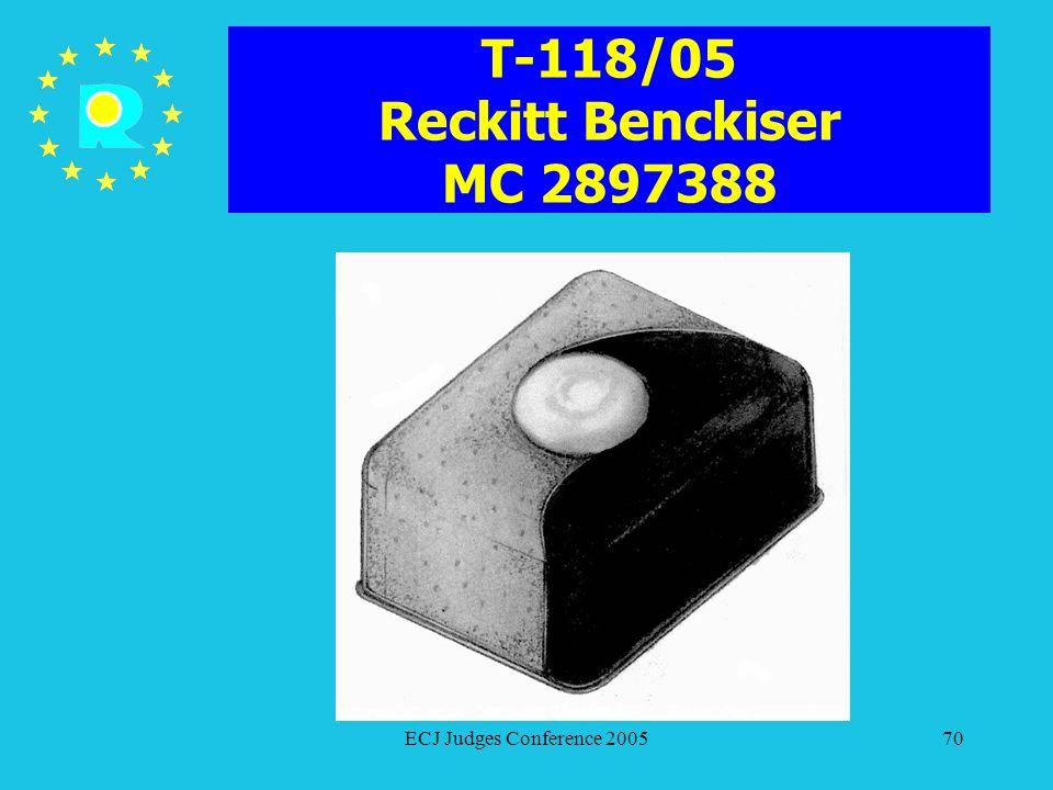 T-118/05 Reckitt Benckiser MC 2897388