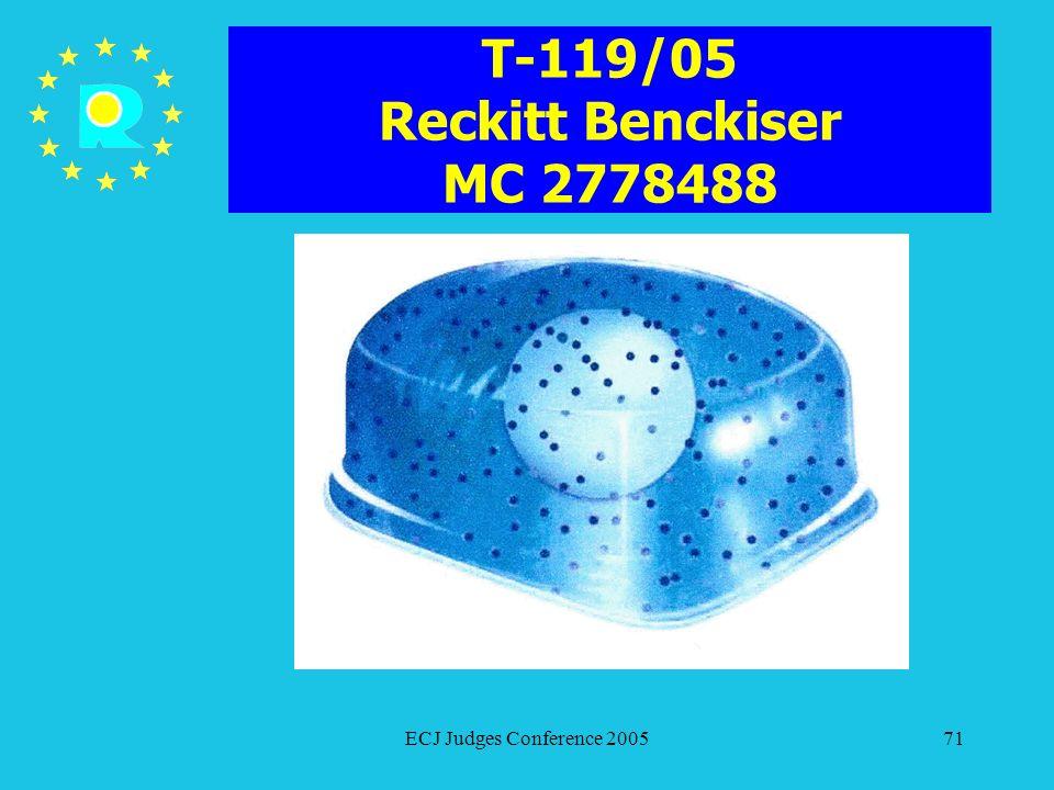 T-119/05 Reckitt Benckiser MC 2778488