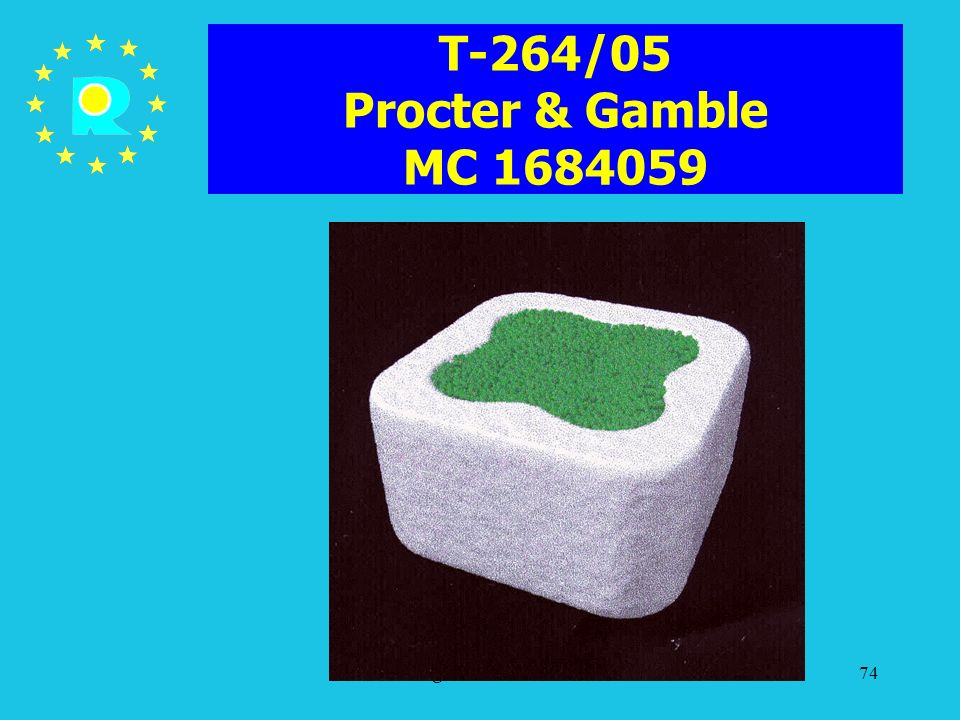T-264/05 Procter & Gamble MC 1684059 ECJ Judges Conference 2005