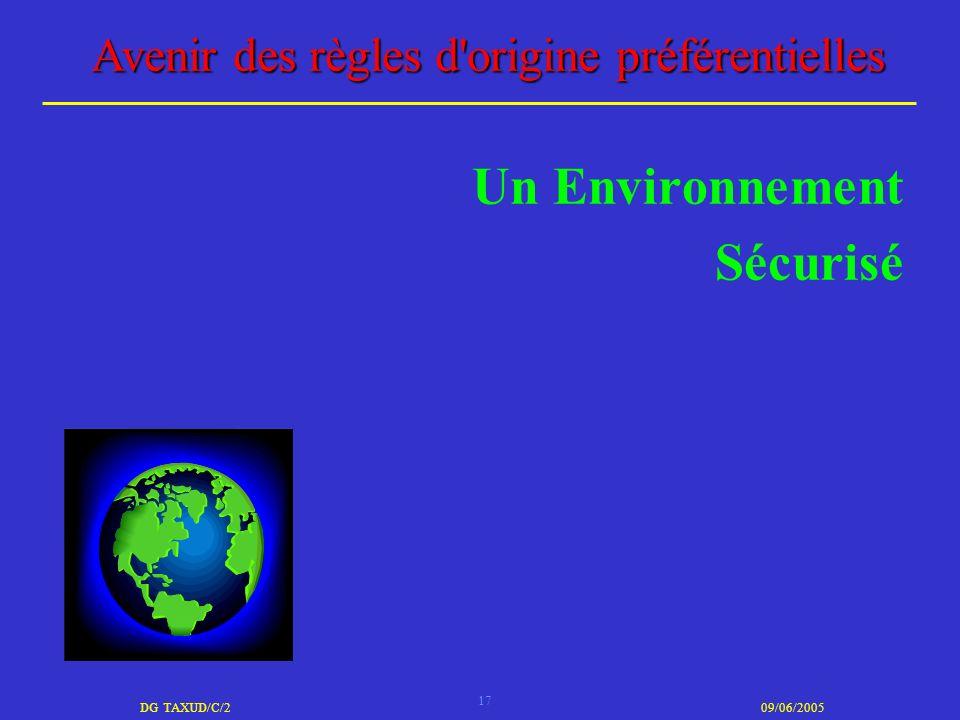 Un Environnement Sécurisé