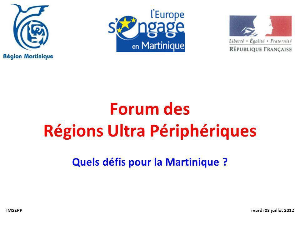 Forum des Régions Ultra Périphériques