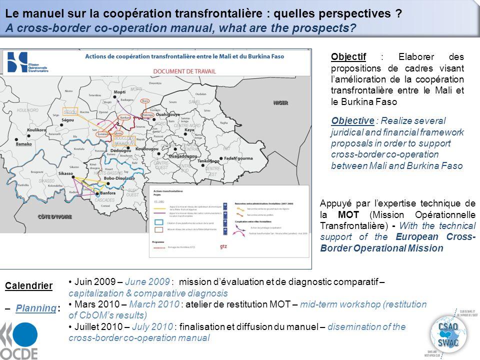 Le manuel sur la coopération transfrontalière : quelles perspectives