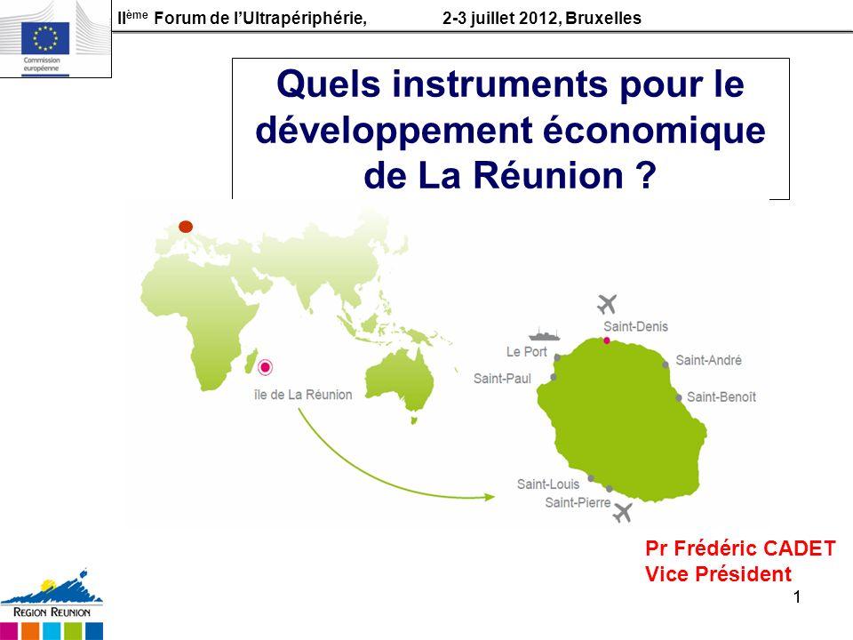 Quels instruments pour le développement économique de La Réunion