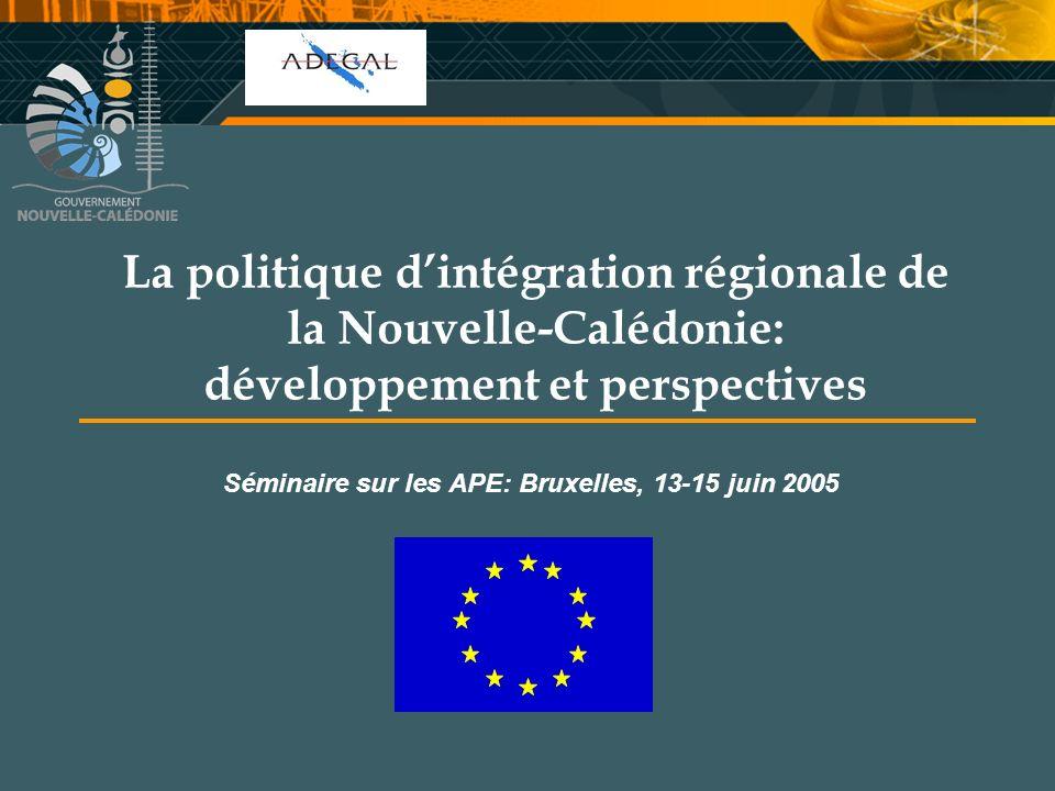 Séminaire sur les APE: Bruxelles, 13-15 juin 2005