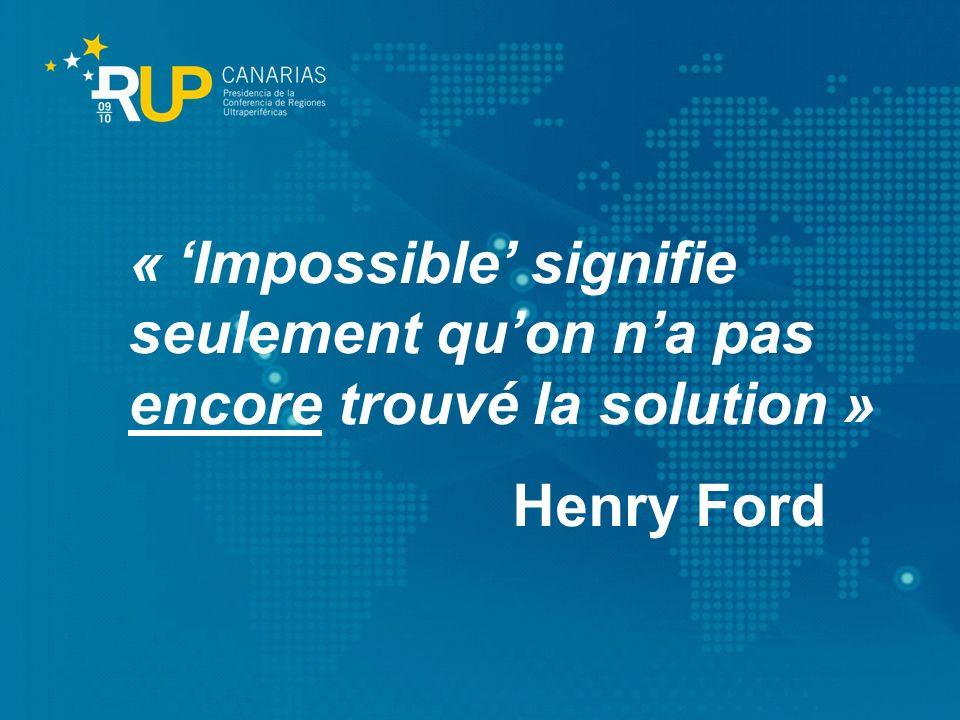 « 'Impossible' signifie seulement qu'on n'a pas encore trouvé la solution »