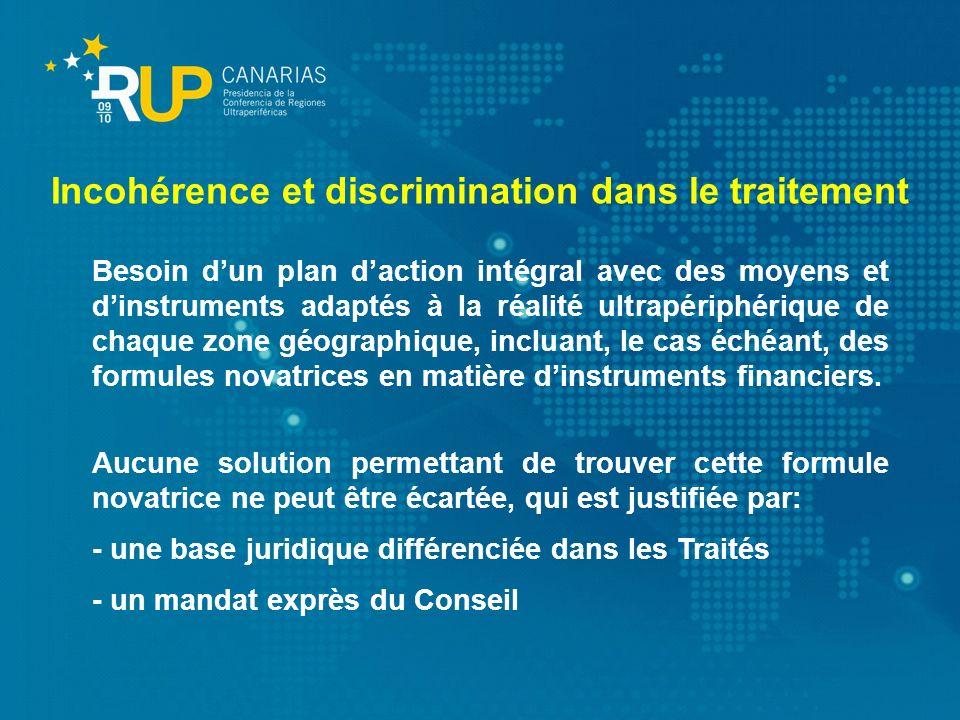 Incohérence et discrimination dans le traitement