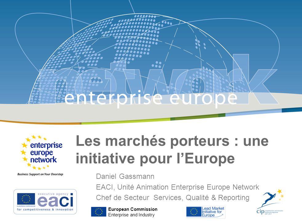 Les marchés porteurs : une initiative pour l'Europe