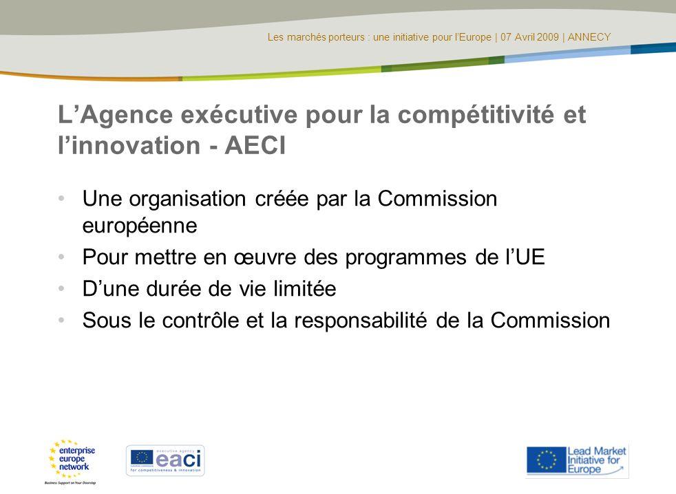 L'Agence exécutive pour la compétitivité et l'innovation - AECI