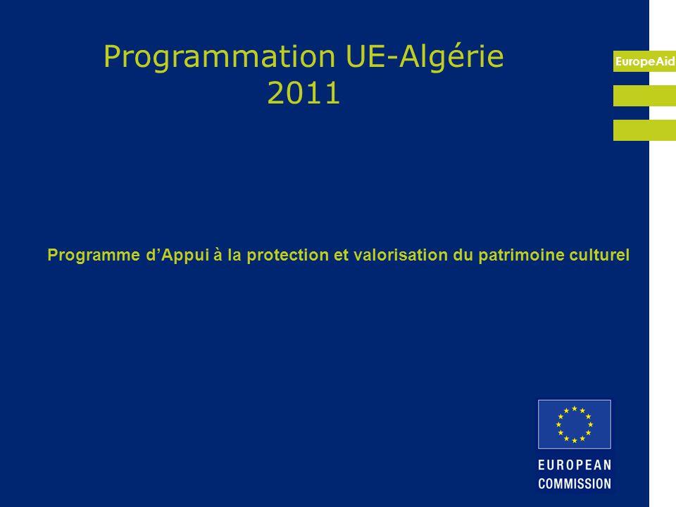 Programmation UE-Algérie 2011