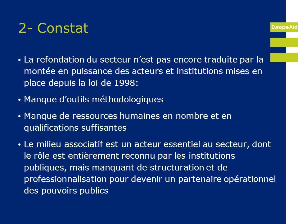 2- Constat
