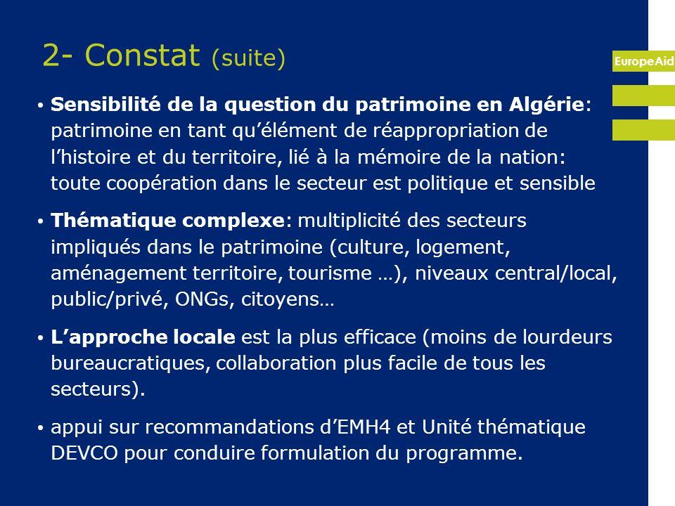 2- Constat (suite)