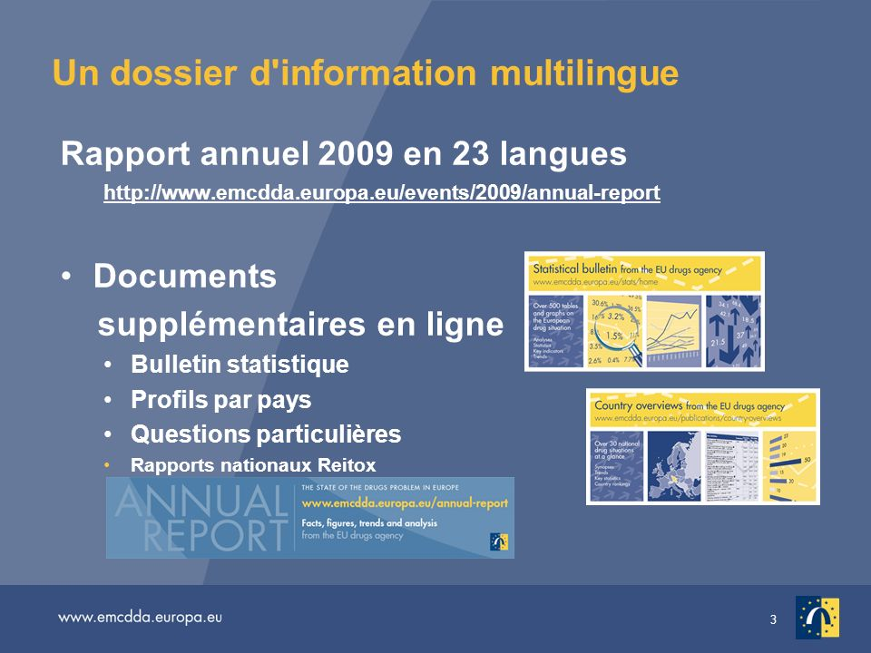 Un dossier d information multilingue