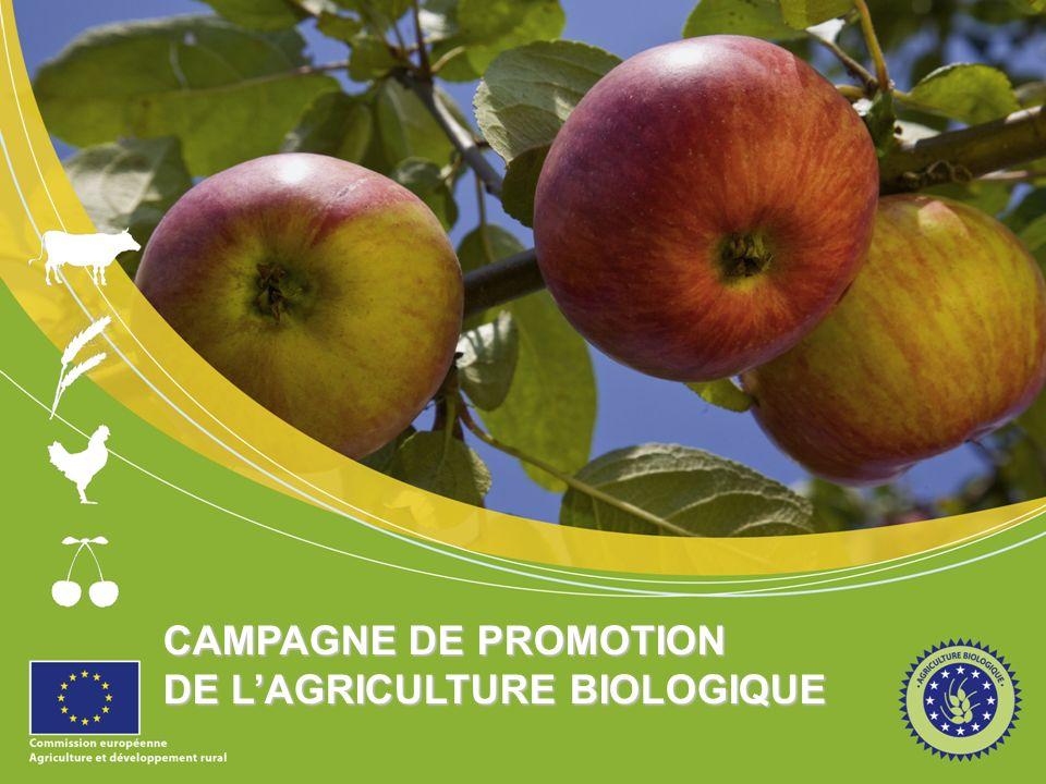 CAMPAGNE DE PROMOTION DE L'AGRICULTURE BIOLOGIQUE