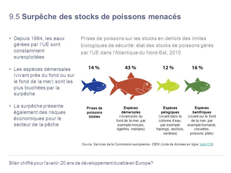 9.5 Surpêche des stocks de poissons menacés