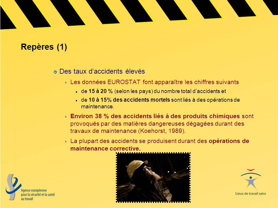 Repères (1) Des taux d'accidents élevés