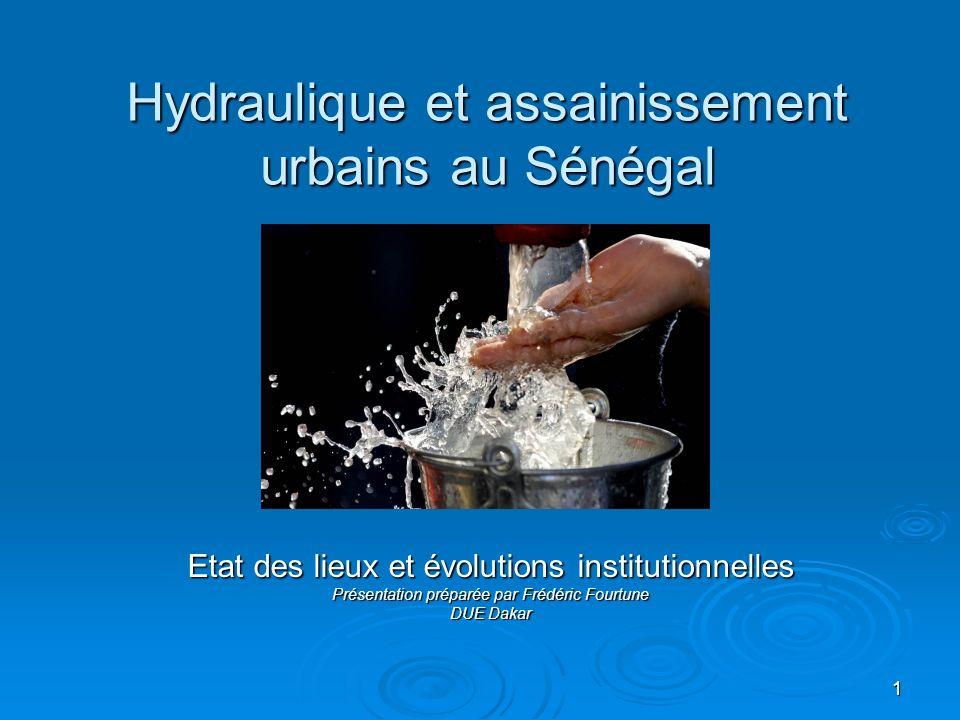 Hydraulique et assainissement urbains au Sénégal