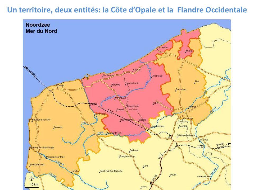 Un territoire, deux entités: la Côte d'Opale et la Flandre Occidentale