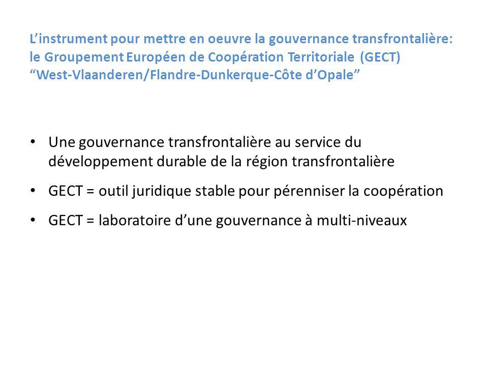 GECT = outil juridique stable pour pérenniser la coopération