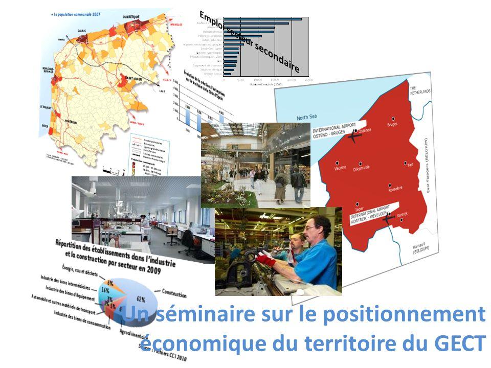 Un séminaire sur le positionnement économique du territoire du GECT