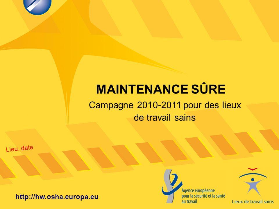 Campagne 2010-2011 pour des lieux de travail sains