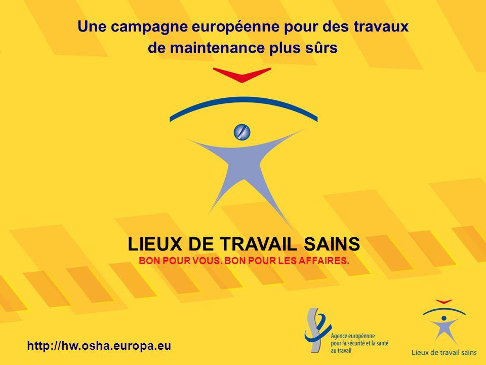 LIEUX DE TRAVAIL SAINS BON POUR VOUS. BON POUR LES AFFAIRES.