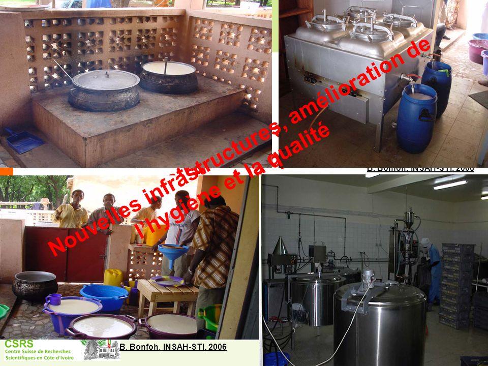 Nouvelles infrastructures, amélioration de l'hygiène et la qualité