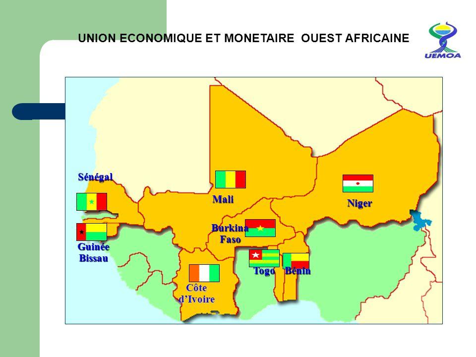 UNION ECONOMIQUE ET MONETAIRE OUEST AFRICAINE