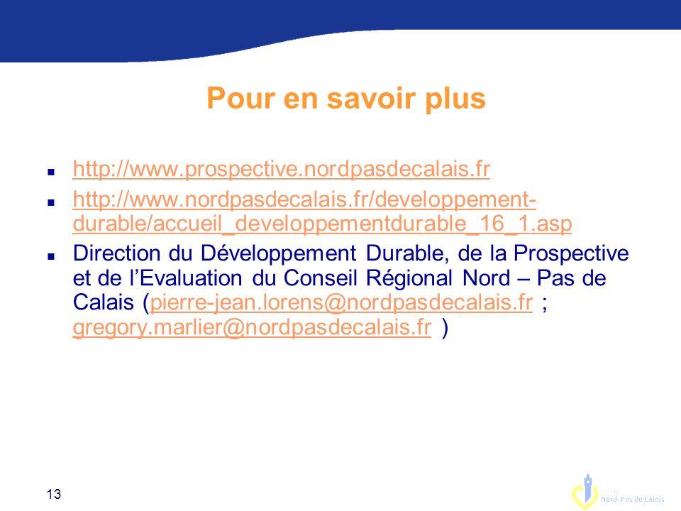 Pour en savoir plus http://www.prospective.nordpasdecalais.fr