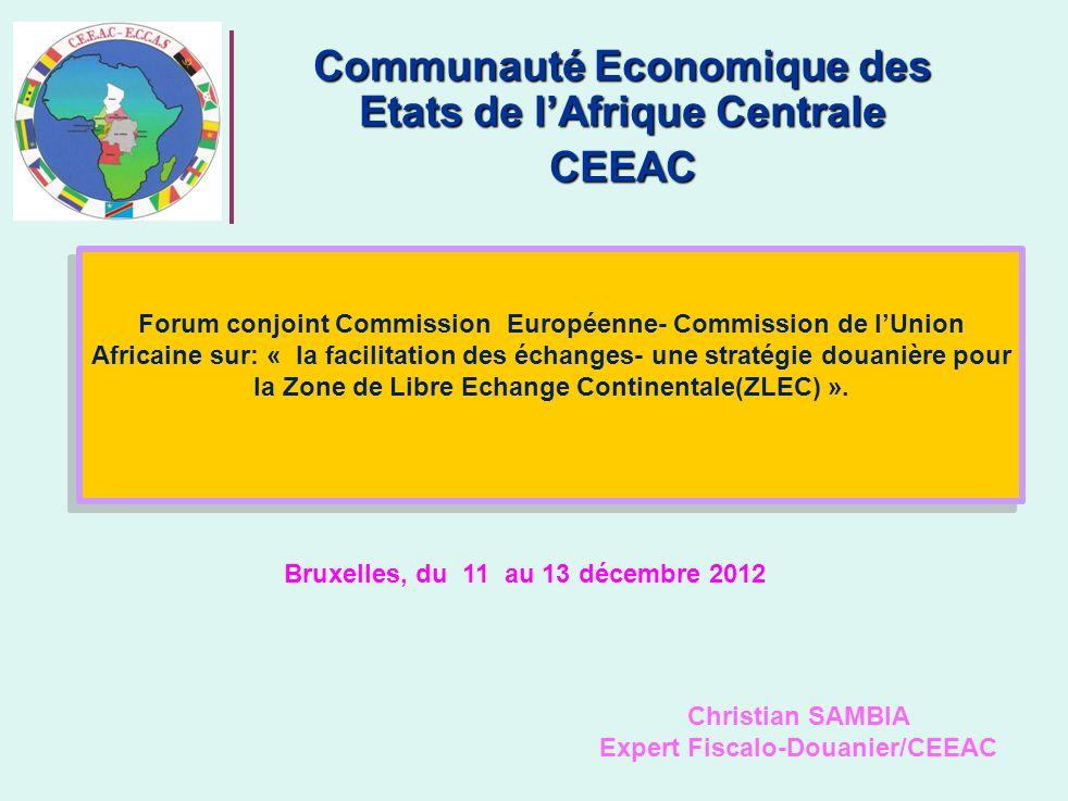 Communauté Economique des Etats de l'Afrique Centrale CEEAC
