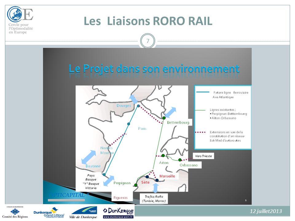 Les Liaisons RORO RAIL 12 juillet2013