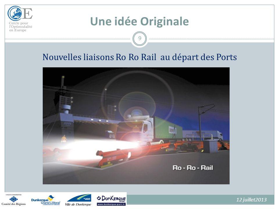 Nouvelles liaisons Ro Ro Rail au départ des Ports