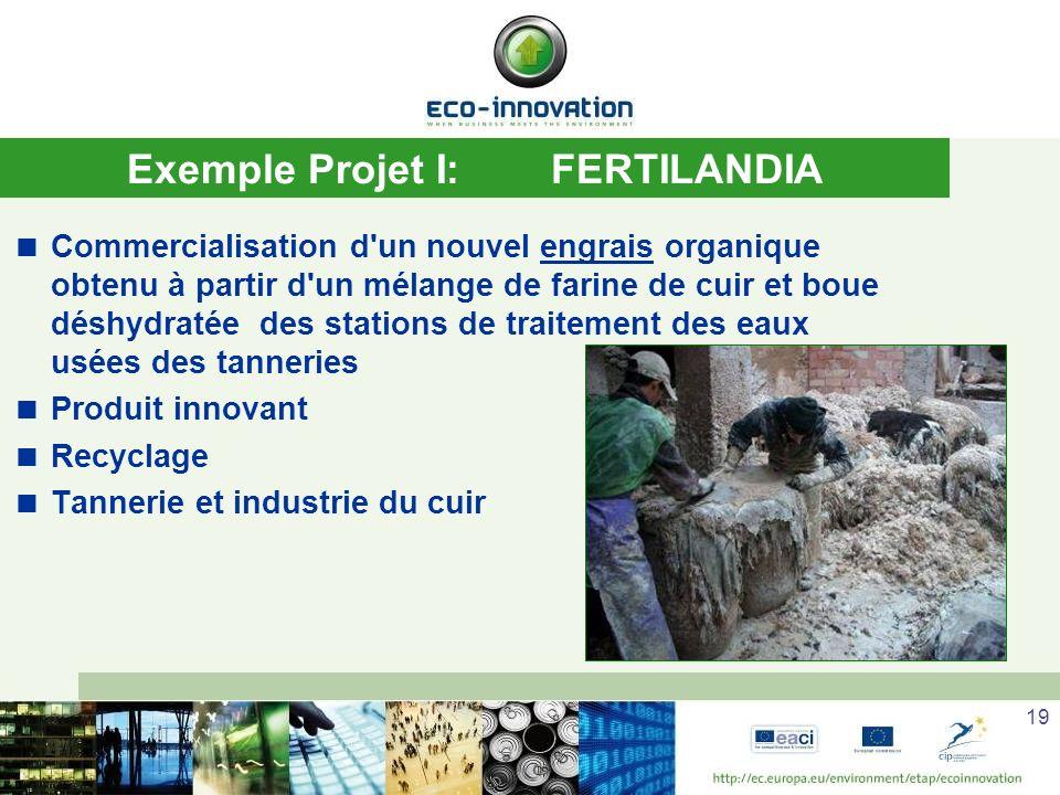 Exemple Projet I: FERTILANDIA