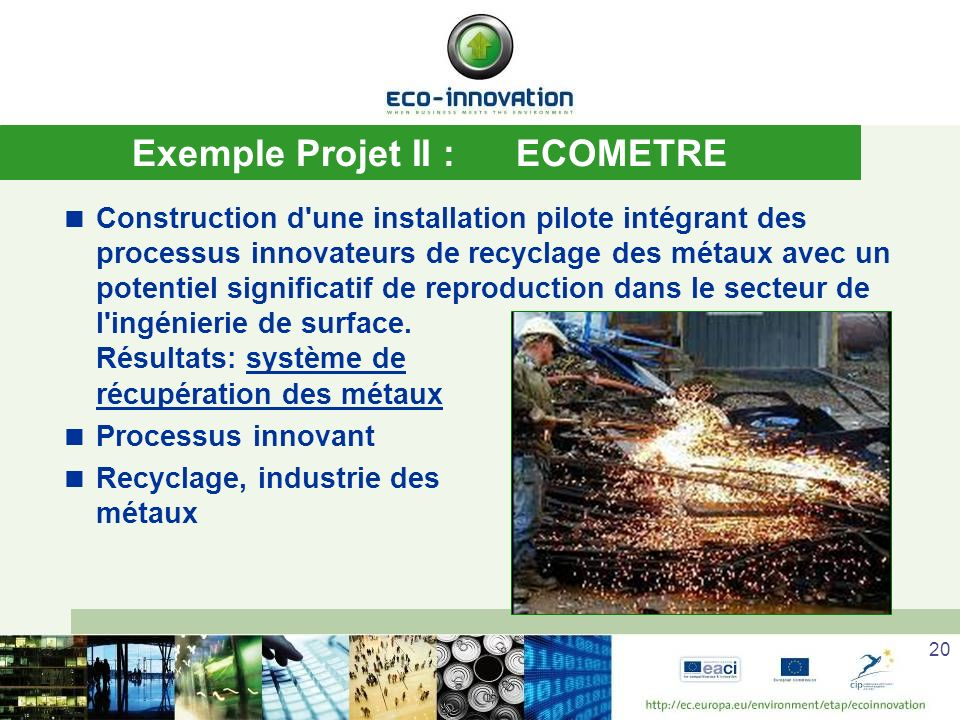Exemple Projet II : ECOMETRE