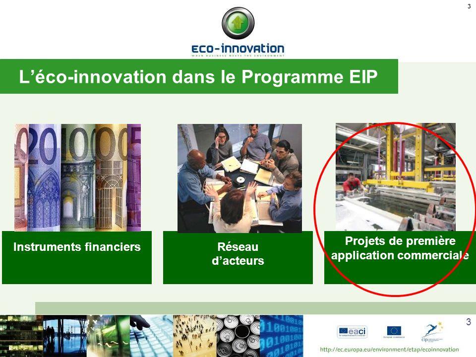 L'éco-innovation dans le Programme EIP