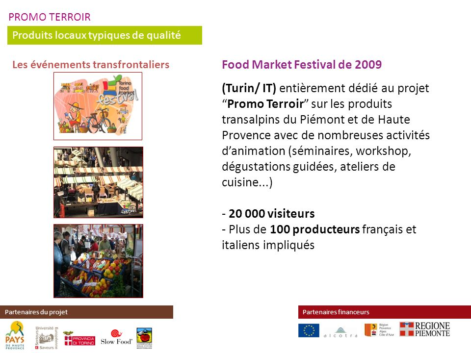Food Market Festival de 2009