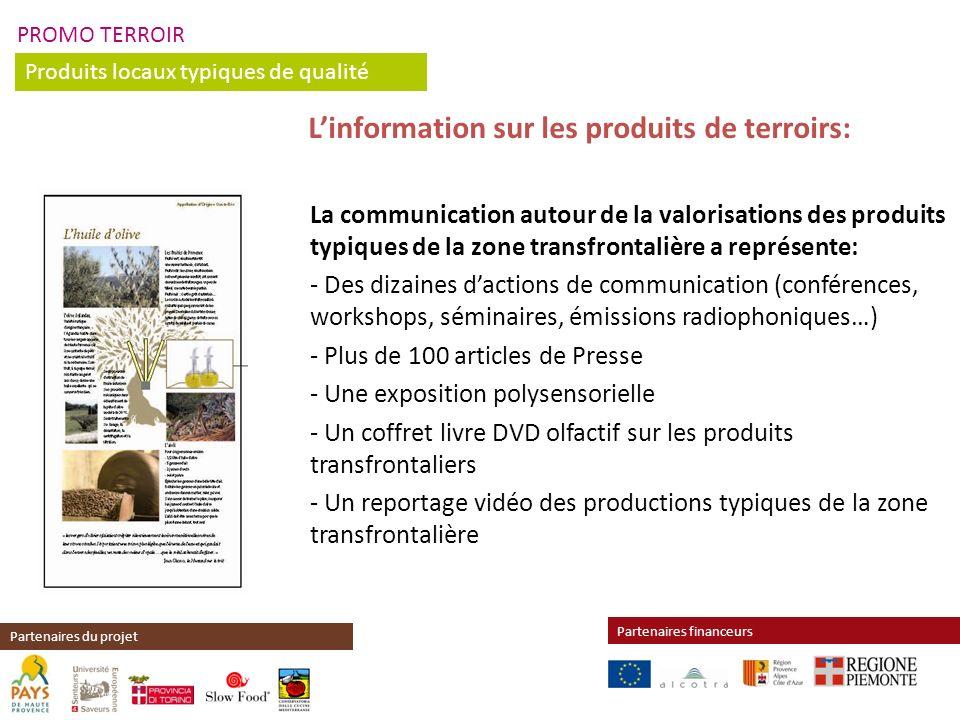 L'information sur les produits de terroirs: